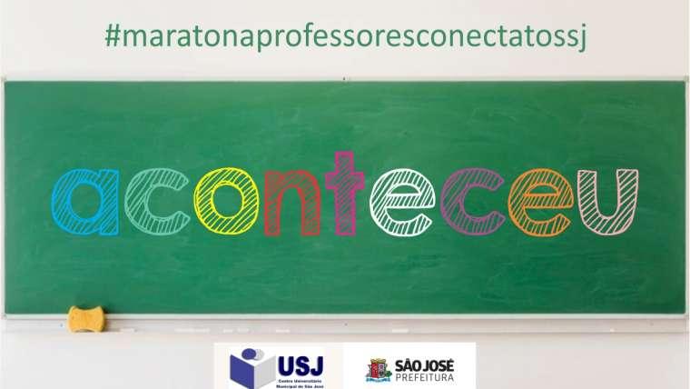2ª Semana do Projeto #maratonaprofessoresconectadossj